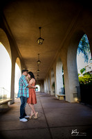 Prewedding Bemilda + Jonathan at Balboa Park